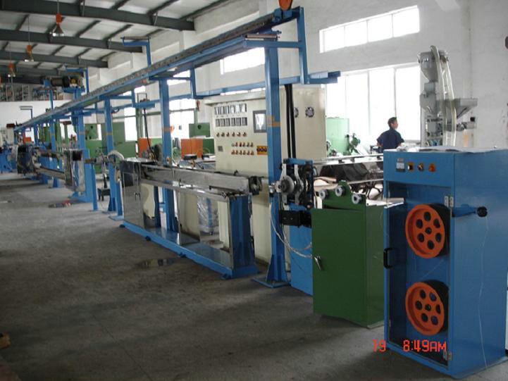 Chemical Foaming Extrusion Line