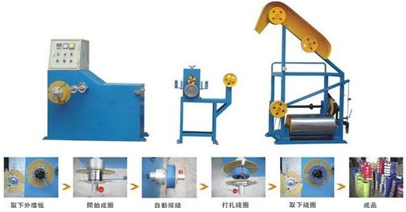 Small Section Auto Coiler Machine