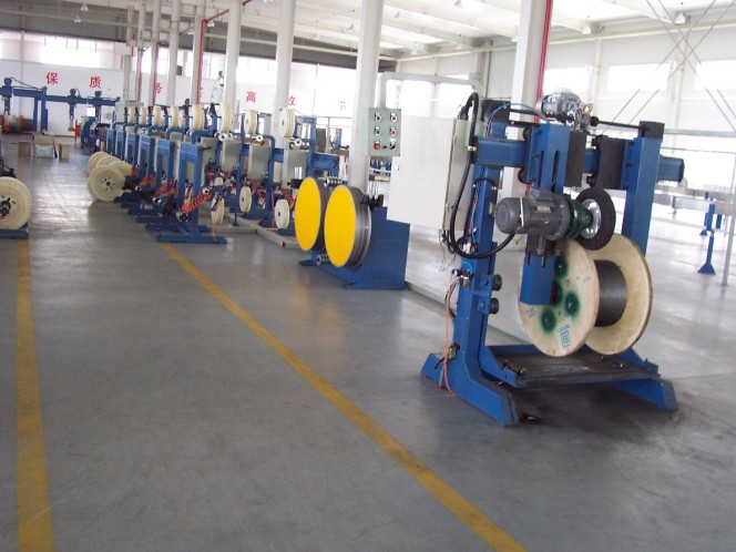 Loose Tube Optical Fiber SZ Stranding Line