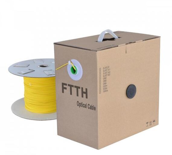 FTTH Cable Manufactured by HAGSIN FTTH Cables / FTTH Drop Cables Production Line Machine - HAGSIN - Top Professional Fiber Optic Cable Machine Manufacturer in China